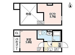 bright maison(ブライトメゾン)[2階]の間取り