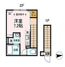 仮)D-room高砂3丁目[203号室]の間取り