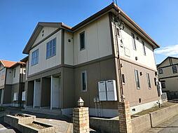 千葉県市原市松ケ島の賃貸アパートの外観