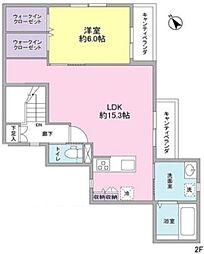 へーベルメゾン大岡山[2階]の間取り