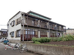 埼玉県所沢市大字北秋津の賃貸アパートの外観