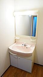 鏡が大きい洗面...