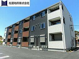 愛知県豊橋市新栄町字牟呂下の賃貸アパートの外観