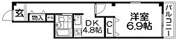 メゾンスカーレット[3階]の間取り