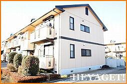 東京都立川市幸町6丁目の賃貸アパートの外観