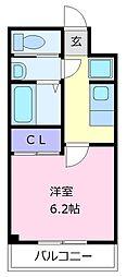 ARATA松原天美東[3階]の間取り