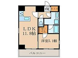 GRAN PASEO目黒 11階1LDKの間取り