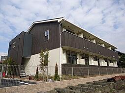 滋賀県彦根市外町の賃貸アパートの外観