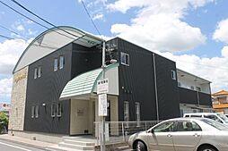 愛知県岡崎市城南町3丁目の賃貸アパートの外観