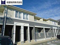 愛知県田原市赤石4丁目の賃貸アパートの外観