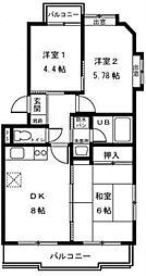 アーバンハイムZen[3階]の間取り