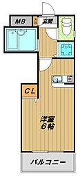アネックス神戸[2階]の間取り
