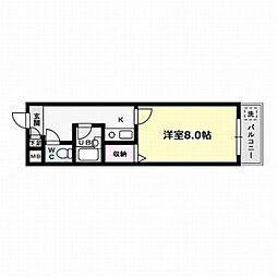 スマイル南福岡[2階]の間取り