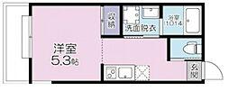 (仮称)大宮区大成町計画 3階ワンルームの間取り