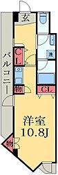千葉県千葉市緑区おゆみ野南2丁目の賃貸マンションの間取り