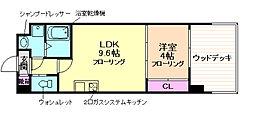 レジディア千里藤白台[4階]の間取り