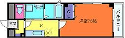 クラインハウス[7階]の間取り