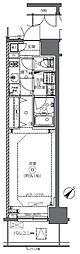 JR総武本線 馬喰町駅 徒歩2分の賃貸マンション 4階1Kの間取り