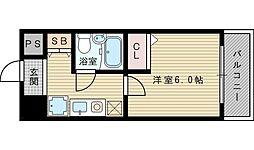 エスリード新大阪第2[7階]の間取り