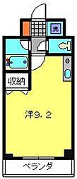 神奈川県横浜市西区伊勢町2丁目の賃貸マンションの間取り