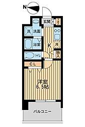 レジディア船橋1[1004号室]の間取り