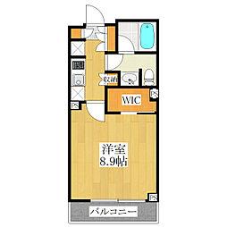 パークアクシス西ヶ原[7階]の間取り