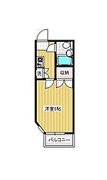 フローラ宮崎台[4階]の間取り