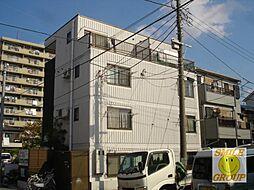 千葉県市川市鬼高2丁目の賃貸アパートの外観
