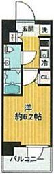 SHOKEN Residence亀有 2階1Kの間取り