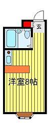 ベルピア北柏第6−2[2階]の間取り