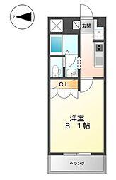 アートメゾン倉敷[5階]の間取り
