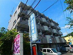 東京都八王子市上柚木2丁目の賃貸マンションの外観