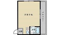 マンションタカヤマ[1階]の間取り