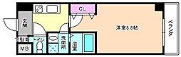 ル セルクル[4階]の間取り