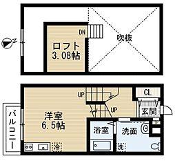 Casa Principe (カーサ プリンチペ)[2階]の間取り