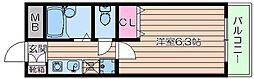 ノースコート[3階]の間取り
