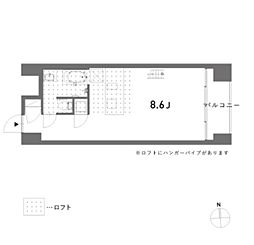 est(エスト)[1階]の間取り