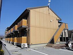 滋賀県彦根市東沼波町の賃貸アパートの外観
