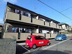 大阪府豊中市岡町北2丁目の賃貸アパートの外観