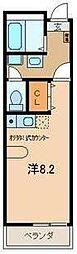 S Clail (エスクレイル)[2階]の間取り
