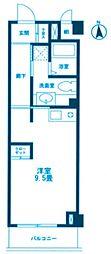 ロータス新川崎[2階]の間取り