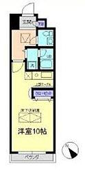 神奈川県横浜市青葉区あざみ野1丁目の賃貸マンションの間取り