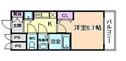 アクアプレイス福島EYE[7階]の間取り