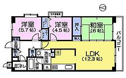 カサベルデ石神井台II[3階]の間取り