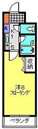 第2シバタハウス[305号室]の間取り