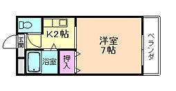 第2サンライフ瀬川[2階]の間取り