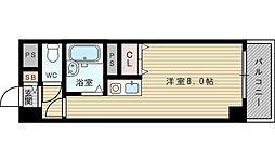 パシフィック新大阪[4階]の間取り