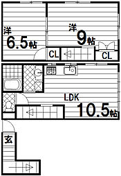 三宝ビル[2階]の間取り