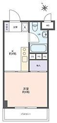 ライオンズマンション新高円寺[4階]の間取り