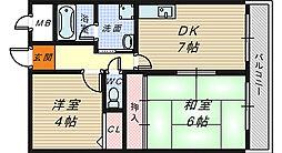 BLD萩[5階]の間取り